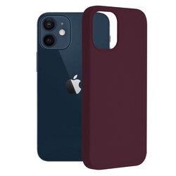 Husa iPhone 12 mini Techsuit Soft Edge Silicone, violet