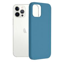 Husa iPhone 12 Pro Techsuit Soft Edge Silicone, albastru