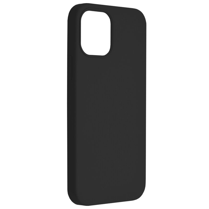 Husa iPhone 12 Pro Techsuit Soft Edge Silicone, negru