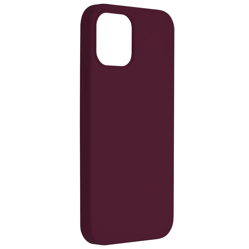 Husa iPhone 12 Pro Techsuit Soft Edge Silicone, violet