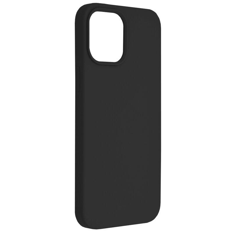Husa iPhone 12 Pro Max Techsuit Soft Edge Silicone, negru