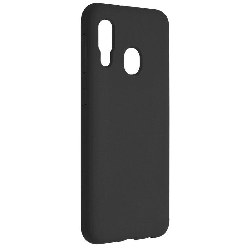 Husa Samsung Galaxy A20e Techsuit Soft Edge Silicone, negru