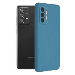 Husa Samsung Galaxy A72 4G Techsuit Soft Edge Silicone, albastru