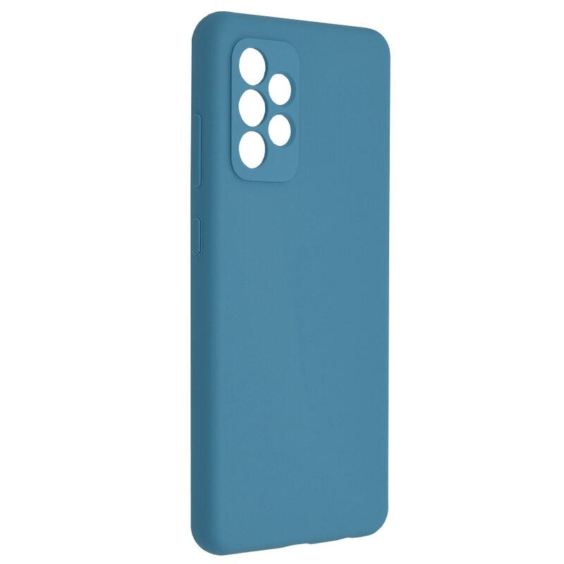 Husa Samsung Galaxy A72 5G Techsuit Soft Edge Silicone, albastru