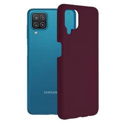 Husa Samsung Galaxy A12 Techsuit Soft Edge Silicone, violet