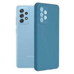 Husa Samsung Galaxy A52 4G Techsuit Soft Edge Silicone, albastru
