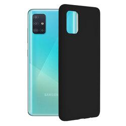 Husa Samsung Galaxy A51 Techsuit Soft Edge Silicone, negru