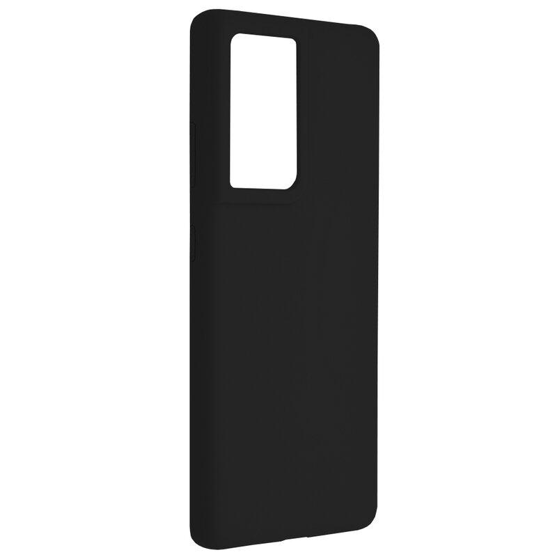 Husa Samsung Galaxy S21 Ultra 5G Techsuit Soft Edge Silicone, negru