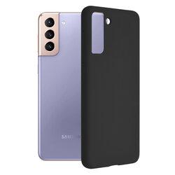 Husa Samsung Galaxy S21 Plus 5G Techsuit Soft Edge Silicone, negru