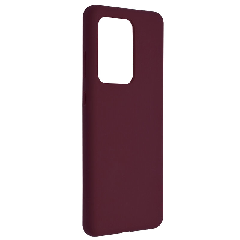 Husa Samsung Galaxy S20 Ultra 5G Techsuit Soft Edge Silicone, violet