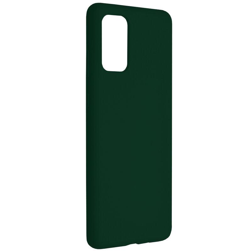 Husa Samsung Galaxy S20 Plus Techsuit Soft Edge Silicone, verde inchis