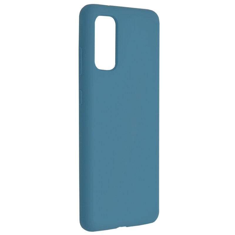 Husa Samsung Galaxy S20 5G Techsuit Soft Edge Silicone, albastru