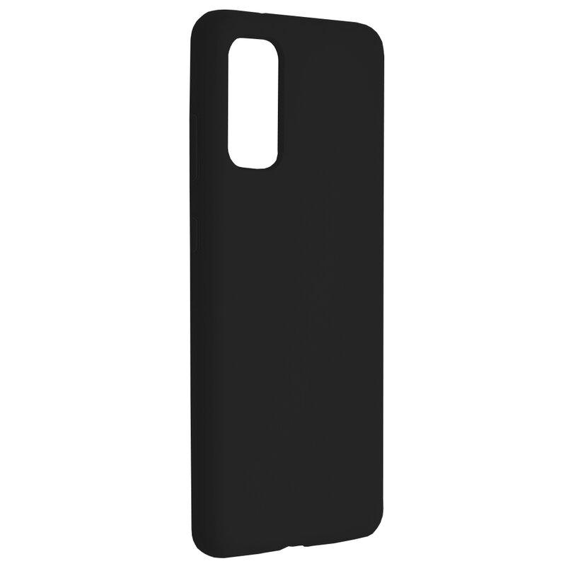 Husa Samsung Galaxy S20 5G Techsuit Soft Edge Silicone, negru