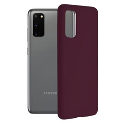 Husa Samsung Galaxy S20 5G Techsuit Soft Edge Silicone, violet