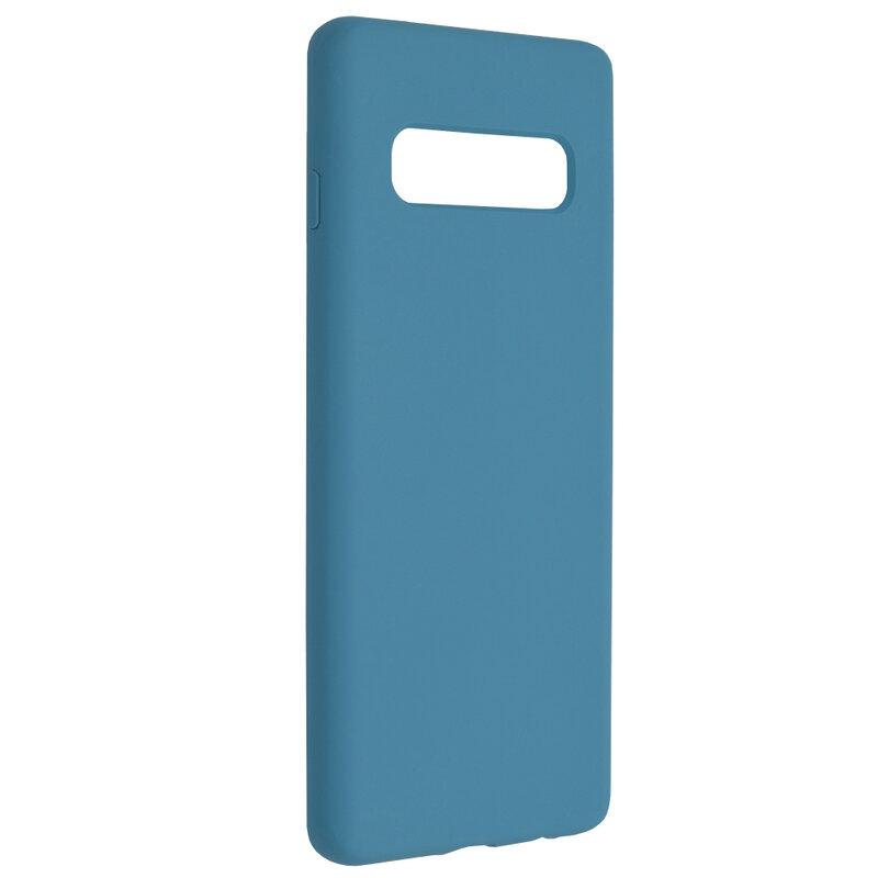 Husa Samsung Galaxy S10 Techsuit Soft Edge Silicone, albastru