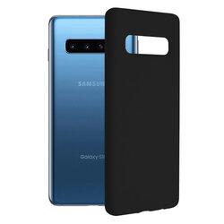 Husa Samsung Galaxy S10 Techsuit Soft Edge Silicone, negru