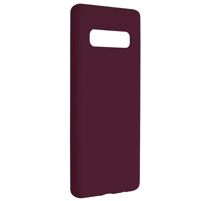 Husa Samsung Galaxy S10 Techsuit Soft Edge Silicone, violet