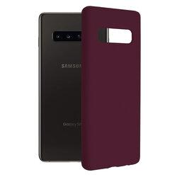Husa Samsung Galaxy S10 Plus Techsuit Soft Edge Silicone, violet
