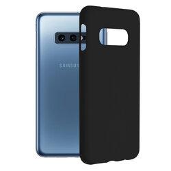 Husa Samsung Galaxy S10e Techsuit Soft Edge Silicone, negru