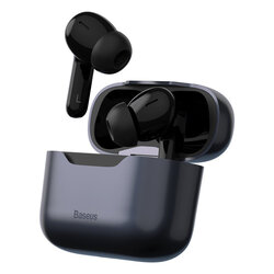 Casti wireless in-ear Baseus, TWS earbuds, noise cancellation, gri, NGS1P-0A