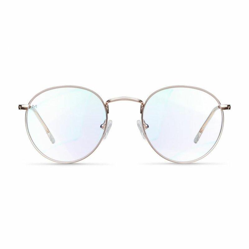 Ochelari de protectie calculator impotriva luminii albastre Meller Yster, roz