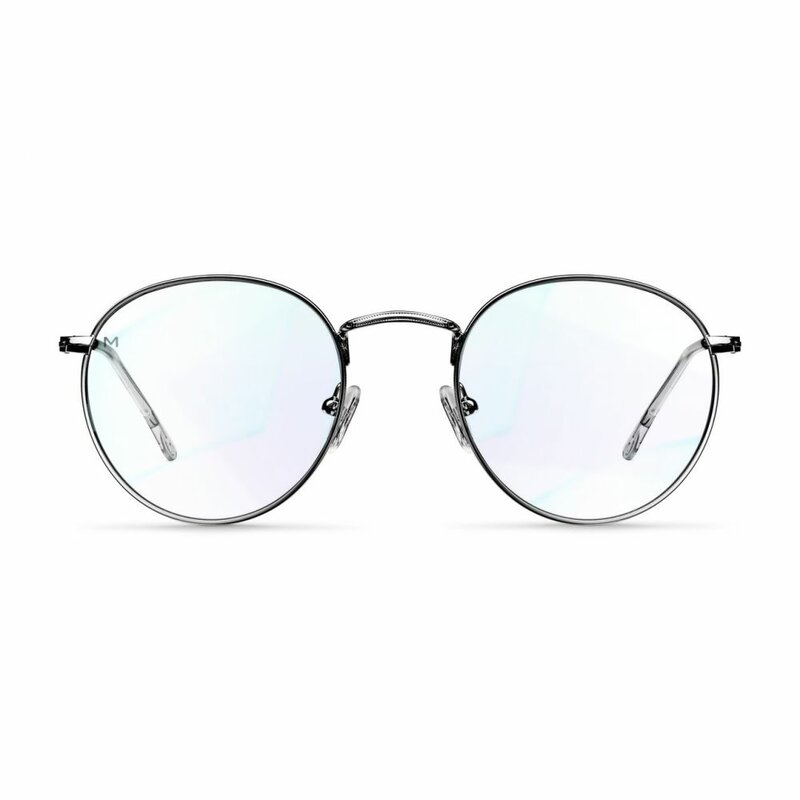 Ochelari de protectie calculator impotriva luminii albastre Meller Yster, negru