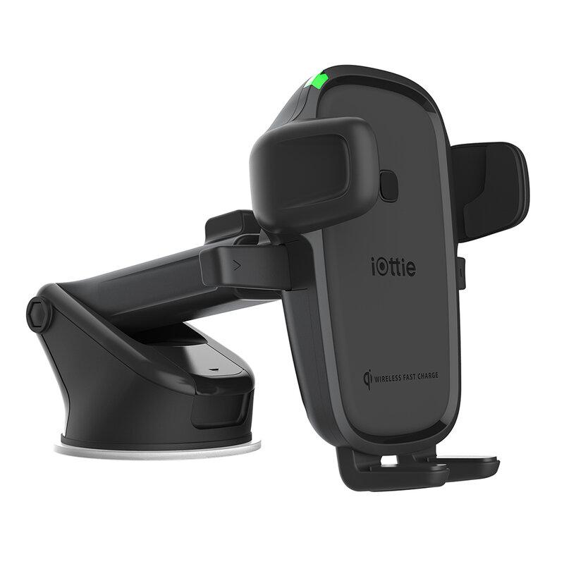 Suport telefon auto iOttie EOT 2, incarcare wireless, bord/ parbirz, negru