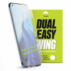 [Pachet 2x] Folie OnePlus 9 Pro Ringke Dual Easy Wing Self Dust Removal - Clear
