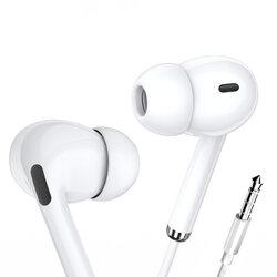 Casti cu fir in-ear Yesido YH33, stereo, microfon, Jack 3.5mm, 1.2m, alb