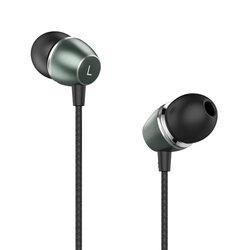 Casti cu fir in-ear Yesido YH22, stereo, microfon, Jack 3.5mm, 1.2m, negru