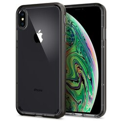 Husa iPhone XS Max Spigen Neo Hybrid Crystal - Gunmetal