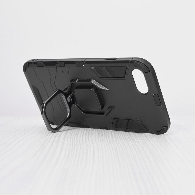 Husa iPhone 7 Techsuit Silicone Shield, Negru
