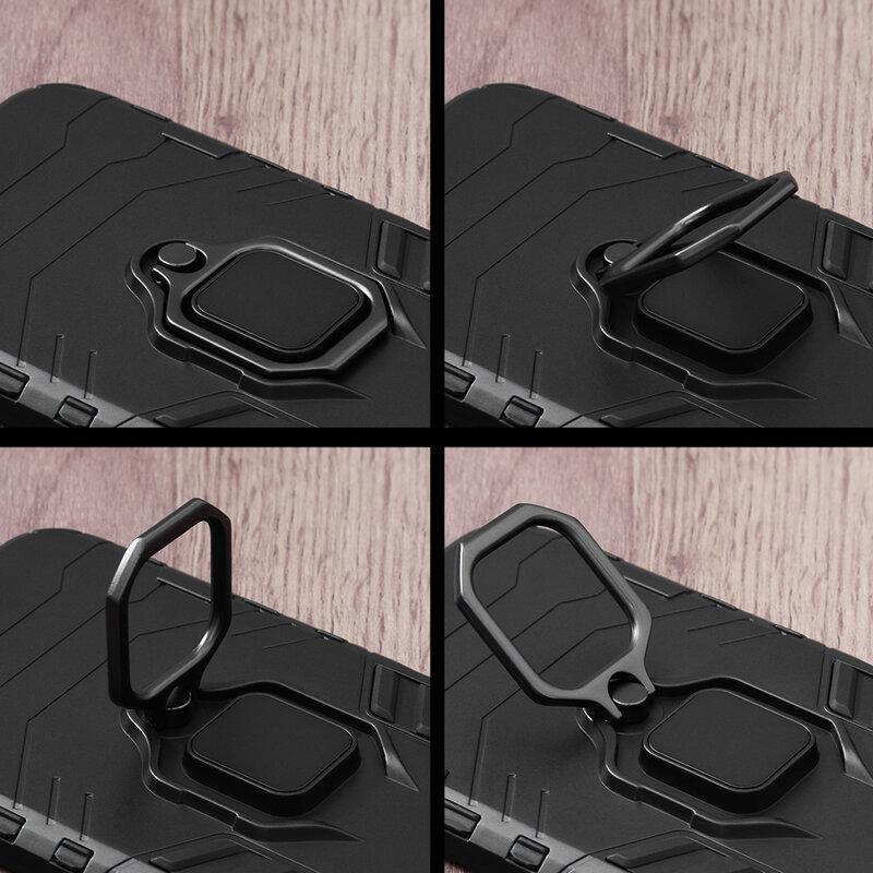 Husa iPhone 8 Plus Techsuit Silicone Shield, Negru