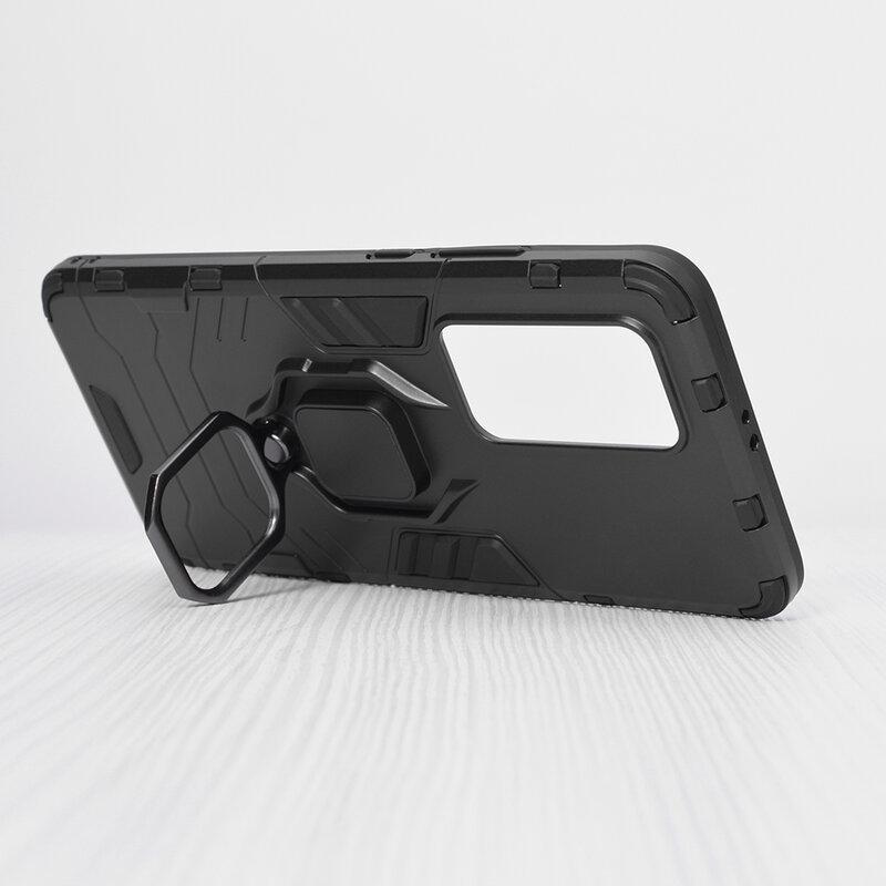 Husa Huawei P40 Pro Techsuit Silicone Shield, Negru