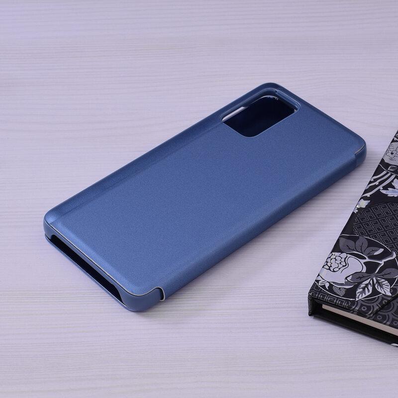 Husa Samsung Galaxy A72 5G Flip Standing Cover - Albastru