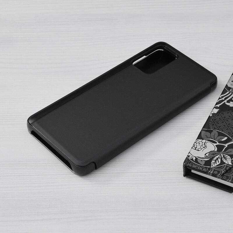 Husa Samsung Galaxy A72 5G Flip Standing Cover - Negru