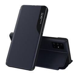 Husa Samsung Galaxy A51 Eco Leather View Flip Tip Carte - Albastru