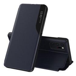 Husa Samsung Galaxy Note 20 Ultra 5G Eco Leather View Flip Tip Carte - Albastru