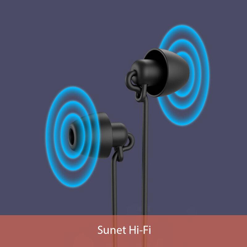 Casti cu fir in-ear Yesido YH29, stereo, microfon, Jack 3.5mm, 1.2m, negru