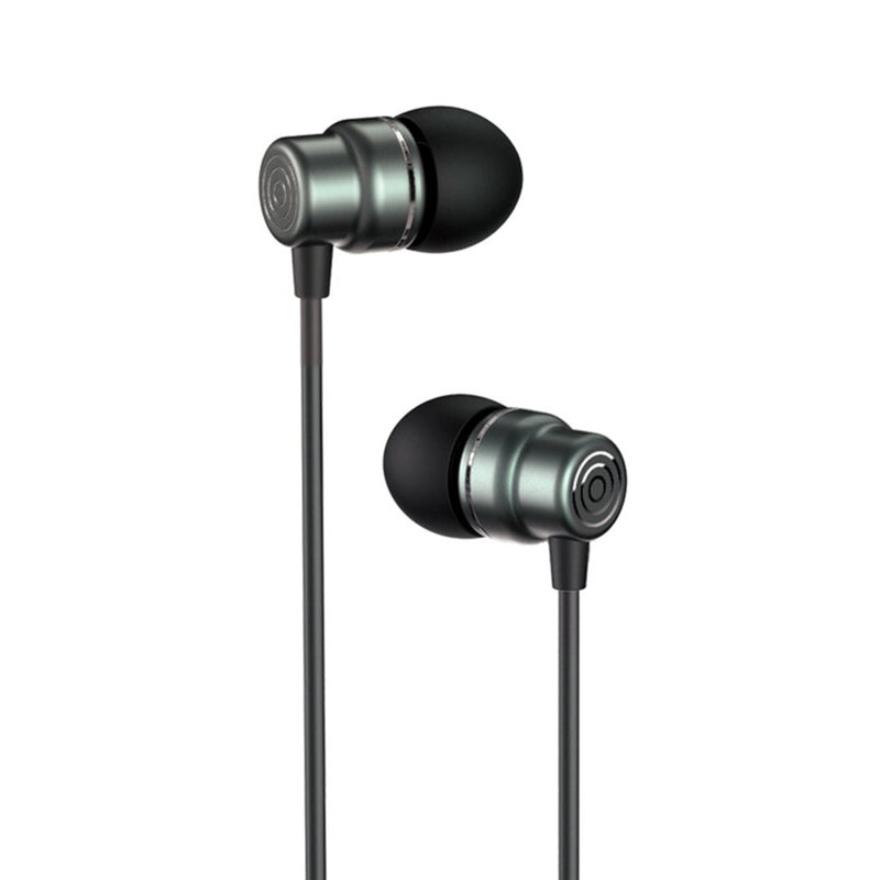 Casti cu fir in-ear Yesido YH32, stereo, microfon, Jack 3.5mm, 1.2m, negru