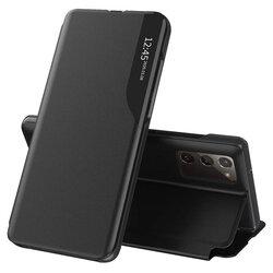 Husa Samsung Galaxy S20 FE Eco Leather View Flip Tip Carte - Negru