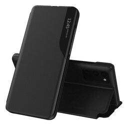 Husa Samsung Galaxy S20 Eco Leather View Flip Tip Carte - Negru