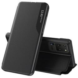 Husa Samsung Galaxy S20 Ultra 5G Eco Leather View Flip Tip Carte - Negru