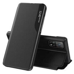 Husa Xiaomi Mi 10T 5G Eco Leather View Flip Tip Carte - Negru