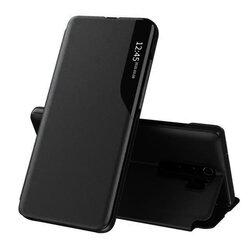 Husa Xiaomi Redmi Note 8 Pro Eco Leather View Flip Tip Carte - Negru