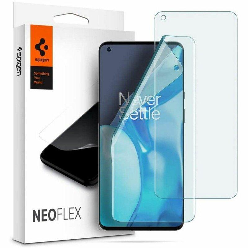 [Pachet 2x] Folie OnePlus 9 Pro Spigen Neo Flex HD, clear
