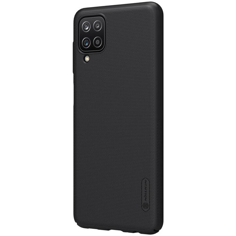 Husa Samsung Galaxy A12 Nillkin Super Frosted Shield - Black