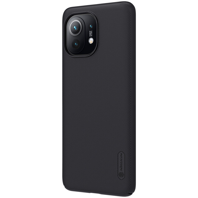 Husa Xiaomi Mi 11 Lite Nillkin Super Frosted Shield - Black