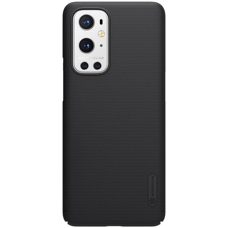 Husa OnePlus 9 Pro Nillkin Super Frosted Shield - Black