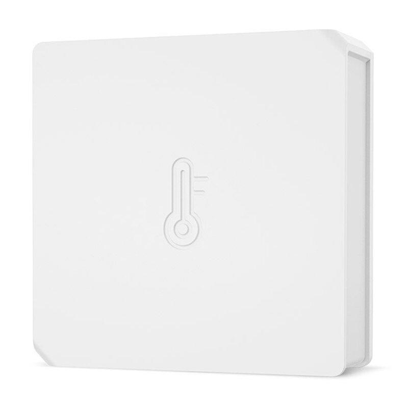 Senzor temperatura si umiditate Wi-Fi Sonoff SNZB-02, ZigBee 3.0, alb